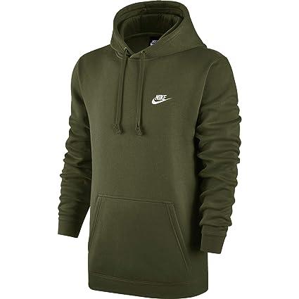 5fb94dc0b056 Amazon.com  Nike Sportswear Men s Pullover Club Hoodie  Sports ...
