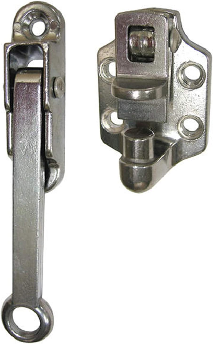 Buyers Products Dh304 Hold Back Door 4In Hook/&Keeper Aluminum