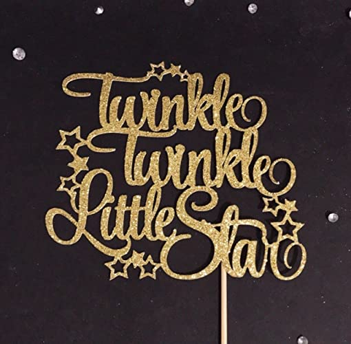 Twinkle Little Star Cake Topper Birthday Baby Shower First