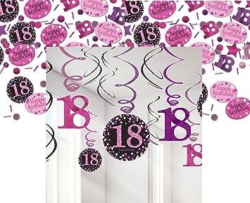 Feste Feiern Geburtstagsdeko Zum 18 Geburtstag I 13 Teile All In