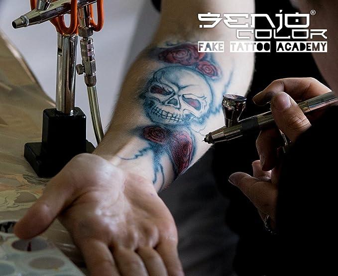 Senjo Color FX INK Set Azul Negro - Old Age - para brocha y ...