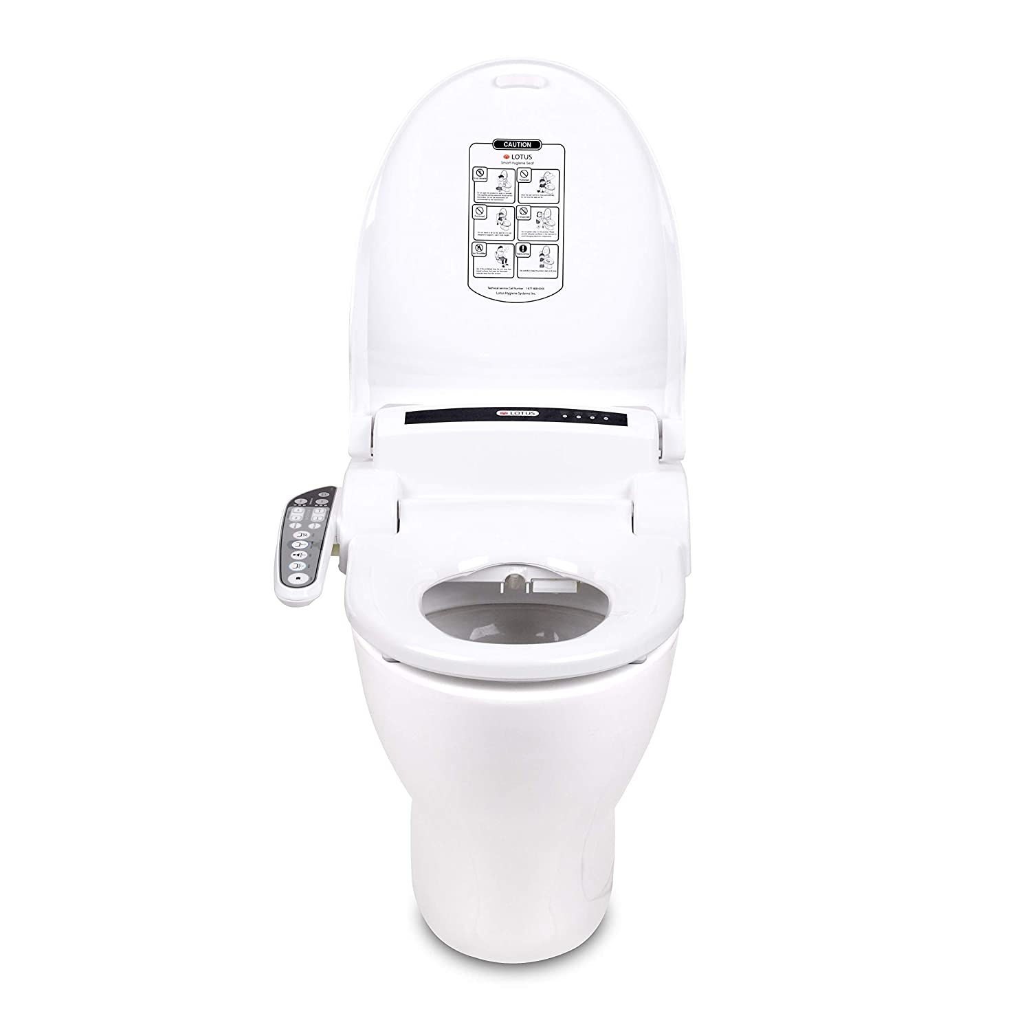 Stupendous Lotus Ats 909 Advanced Smart Toilet Seat Bidet Purestream Function Constipation Relief Heated Seat And Temperature Controlled Wash Warm Air Dryer Cjindustries Chair Design For Home Cjindustriesco