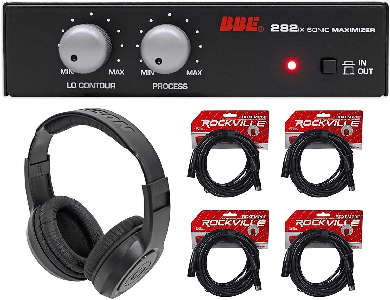 BBE 282IX Desktop Sonic Maximizer w//XLR Inputs//Outputs+Headphones+XLR Cable