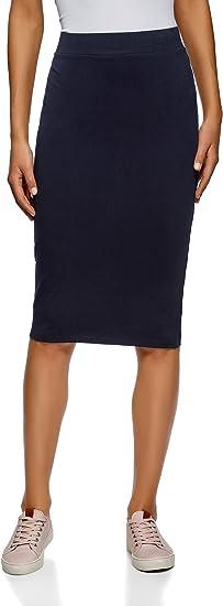 oodji Ultra Mujer Falda-Lápiz (Pack de 2), Azul, ES 34 / XXS: Amazon.es: Ropa y accesorios