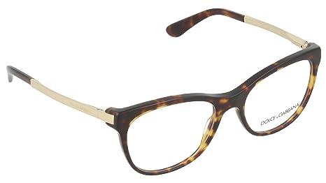 68b619e5a5a9b Eyeglasses Dolce e Gabbana DG 3234 502 DARK HAVANA  Amazon.ca ...