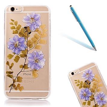 coque iphone 6 fleurs sechees