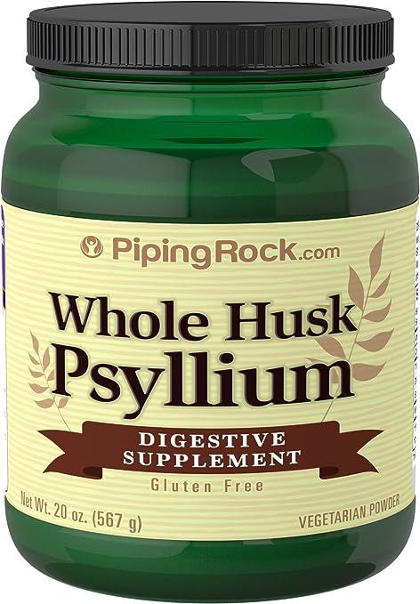 Amazon.com: Ribete Rock toda cáscara Psyllium sin Gluten 20 ...
