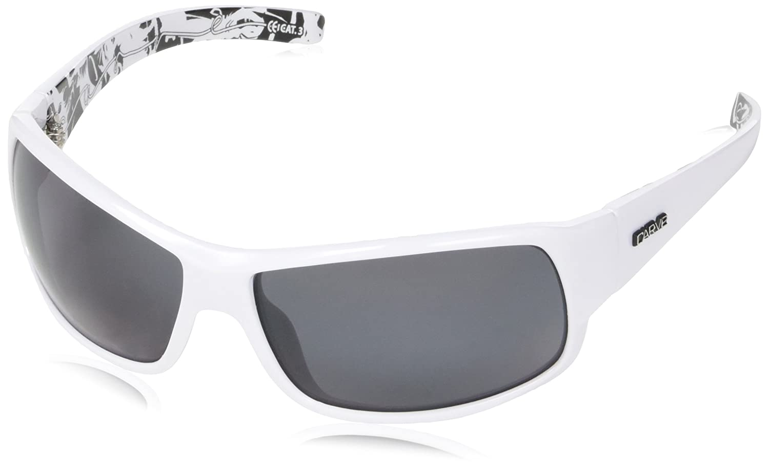 10c93ea3d78a2 Amazon.com  CARVE Eyewear Sunglasses Sonny Black Signature Polarized Grey  Lens  Sports   Outdoors