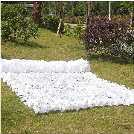 Toldos Terraza Malla de Camuflaje Militar Blanca Red de Camuflaje Ejército 5x3m Refuerzo Red de Sombra pour Jardín Impermeable Camping Sombra Malla Toldos Vela Exterior 6x4m: Amazon.es: Hogar