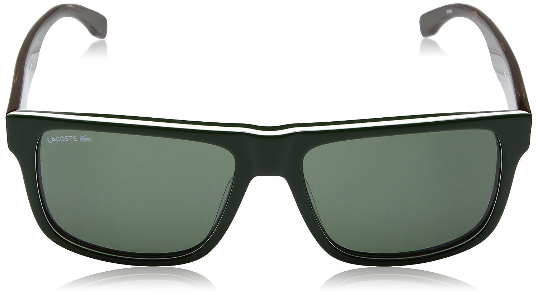 6eb918d0361a Lacoste Men s L826s Rectangular Sunglasses