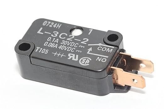 Panasonic inversor microondas puerta secundaria Latch interruptor ...