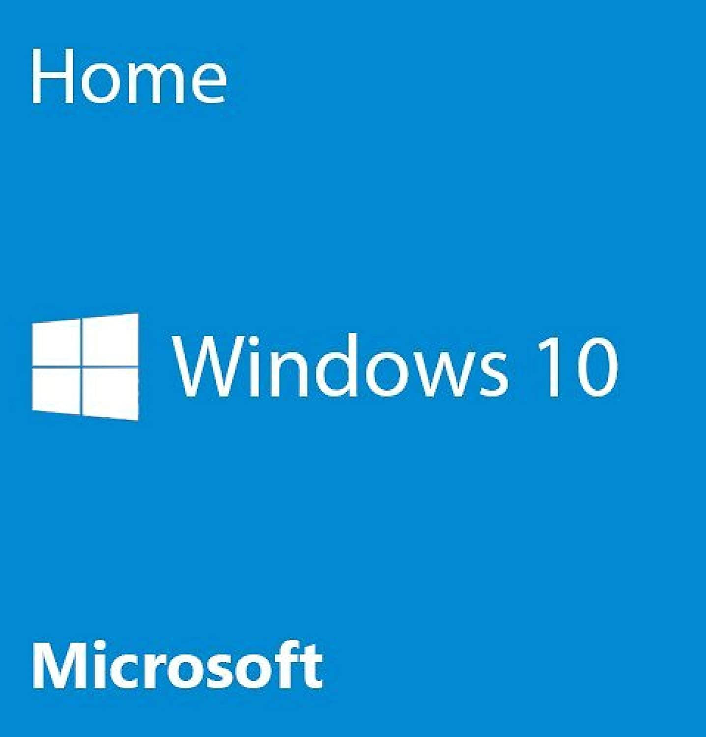 Win 10 Home 64-Bit - OEM | Lifetime License | DVD
