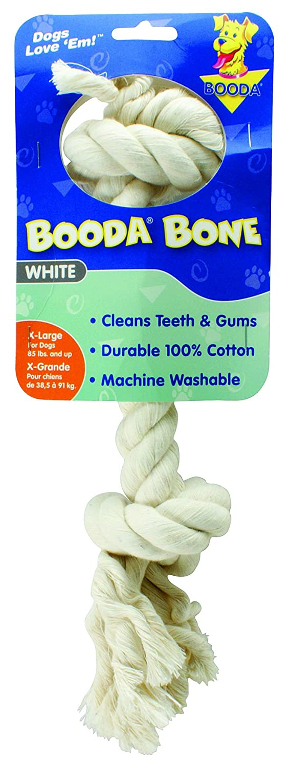 Aspen/Booda Corporation DBX50764 2-Knot Rope Bone Dog Chew Toy, X-Large