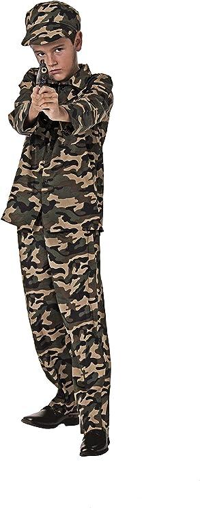 Costumizate! Disfraz de Militar Talla 5-6 Especial para niños ...