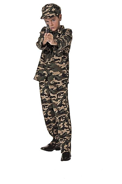 Costumizate! Disfraz de Militar Talla 5-6 Especial para ...