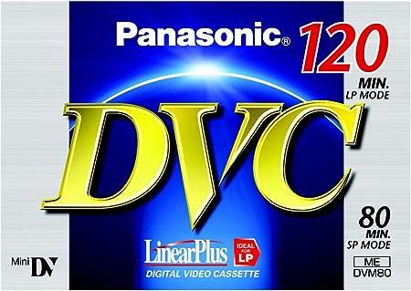 Panasonic Ay Dvm80fe Mini Dv Digitale Videokassette Kamera