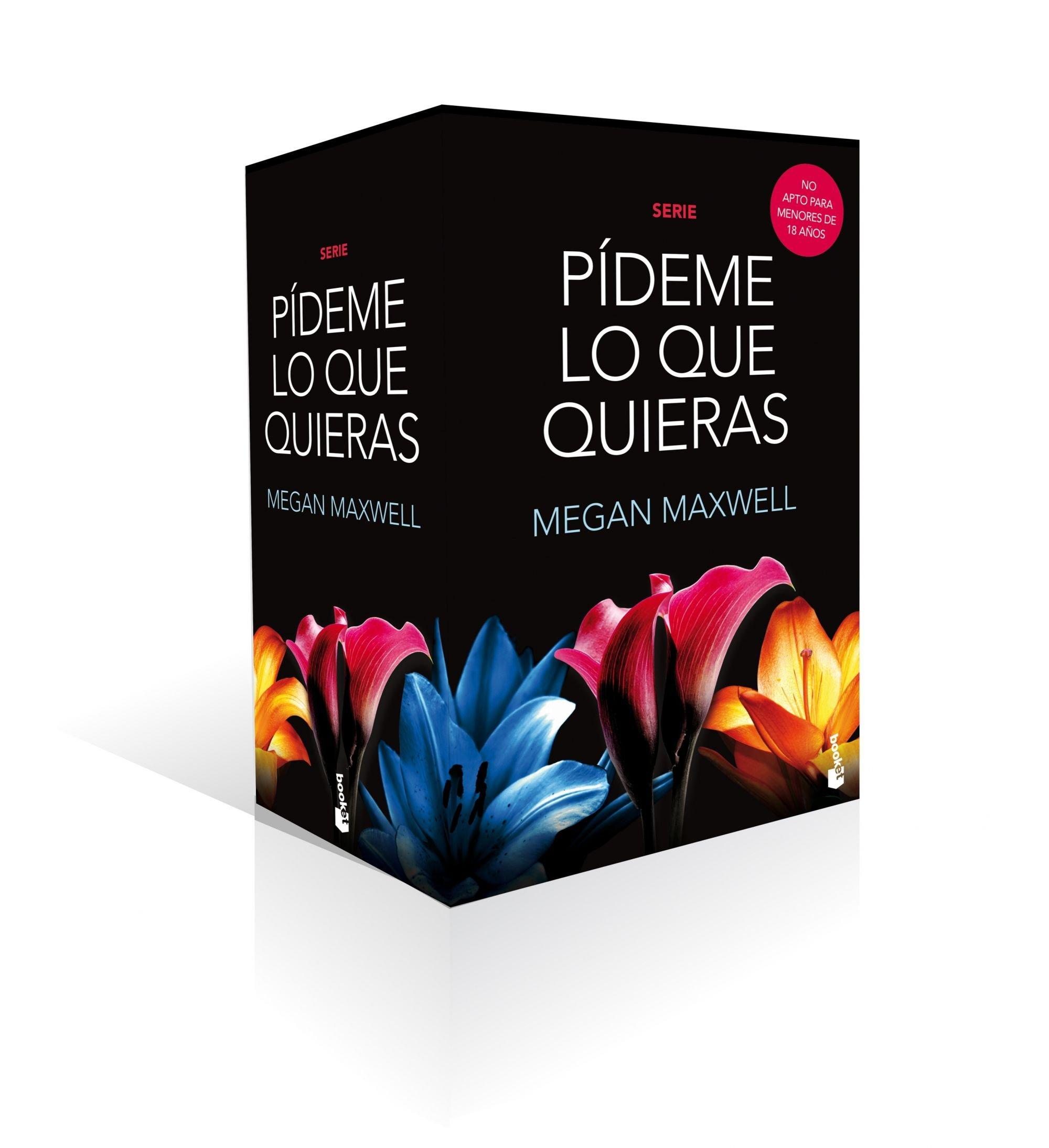 Pack Serie Pídeme lo que quieras (La Erótica): Amazon.es: Maxwell, Megan: Libros
