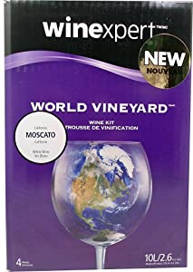 Home Brew Ohio FBA_Does Not Apply Vintners Reserve World Vineyard California Moscato Wine Kit