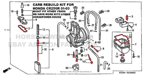 Amazon Carb Carburetor Rebuild Kit Gasket O Ring Main Pilot