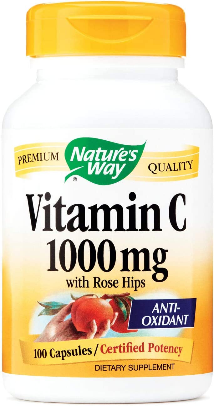 Natures Way Vitamin C 1000 mg - with Rose Hips