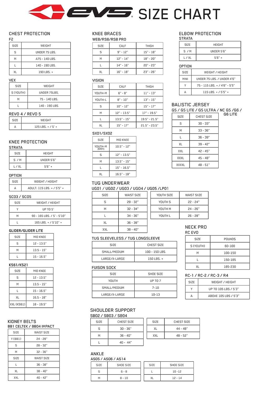 EVS Sports 212040-3037 AXIS Knee Brace