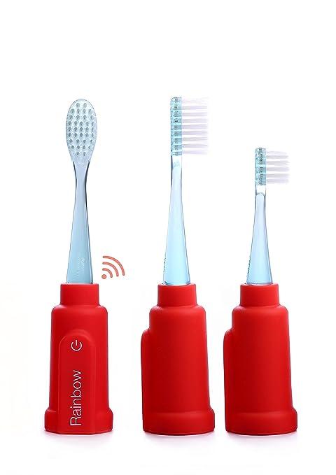 Vigilant Cepillo de dientes del arco iris (rojo)