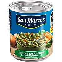 San Marcos, Jalapeño Entero en Escabeche, 255 gramos