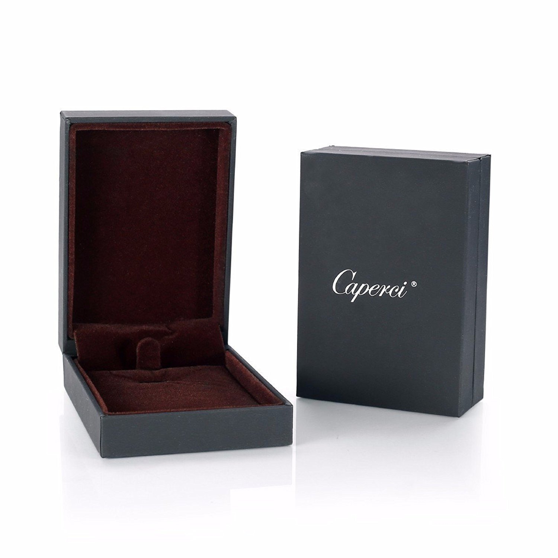 Caperci Sterling Silver Love Open Heart Pendant Necklace Women Girls, 18'' by Caperci (Image #6)