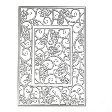 KIMODO Plantillas de corte de metal, diseño de palabras de ...