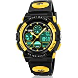 ATIMO LED Multi Function Waterproof Watch for Kids - Kids Gifts