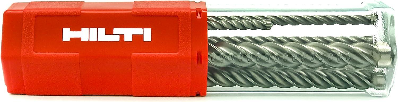 Hilti Original TE-CX 7613023579243 - Juego de 6 brocas M1 SDS Plus, 5a12mm,para hormigón
