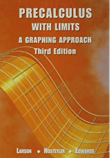 Precalculus with limits a graphing approach ron larson precalculus with limits a graphing approach fandeluxe Choice Image