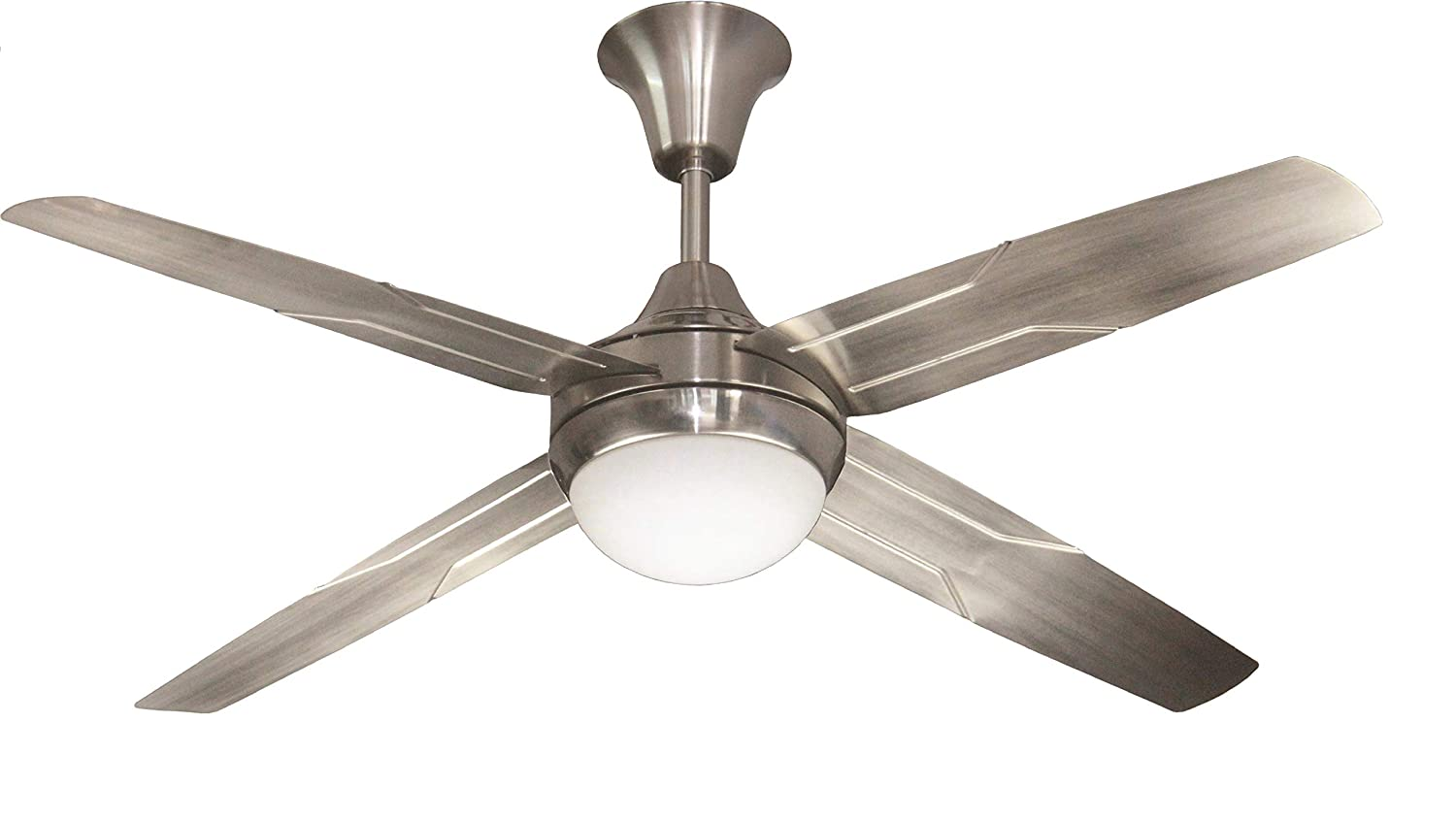Crompton Trigger Glow 1.2 M Brushed Steel Ceiling Fan
