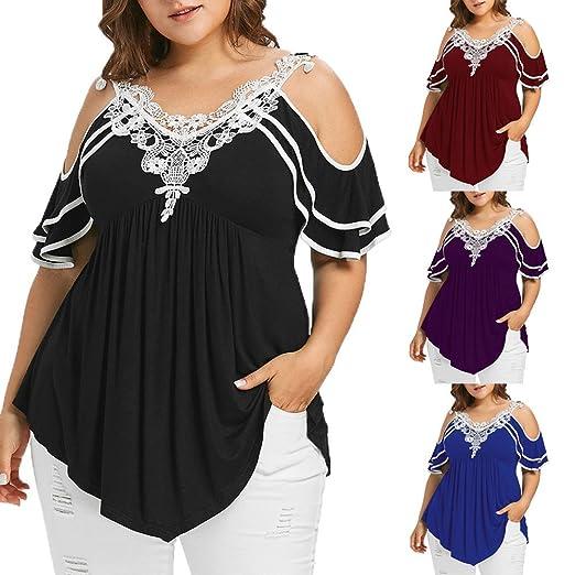 19347cf2de82 Women Dresses Plus Size Off-Shoulder Lace Sleeve Printed Front Collar Bow  Dress (Black