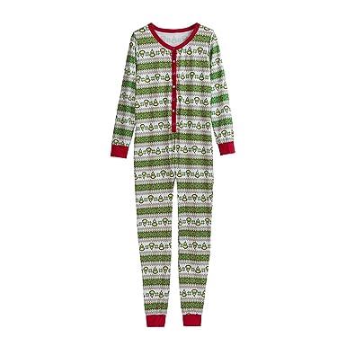 Ropa Conjunto de Pijamas Familiares de Navidad para Familia Padre ...