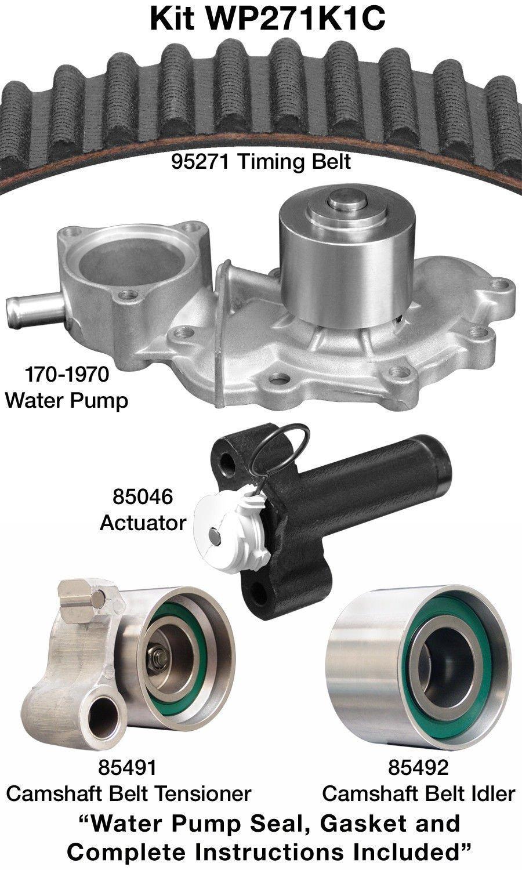 Dayco wp271 K1 C Motor Kit de Correa de distribución con bomba de agua: Amazon.es: Coche y moto