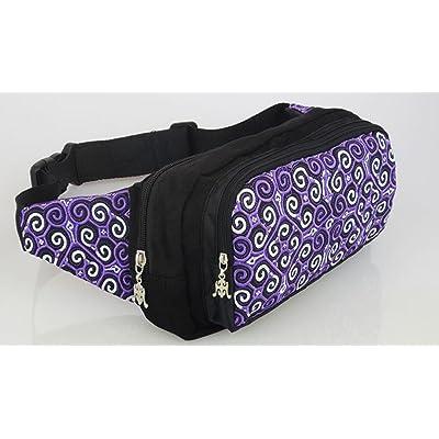 ZYT Trois sacs avec fonction de poches fermeture éclair broderie brodés sacs sacs à main fashion ladies