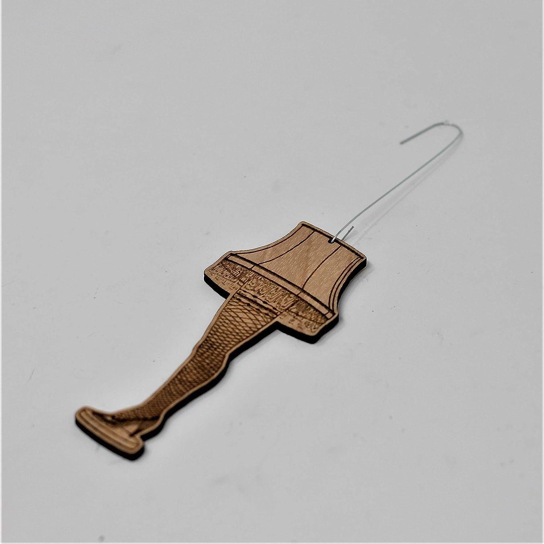 Handmade Wood A Christmas Story Tacky Gift Leg Lamp Christmas Ornament