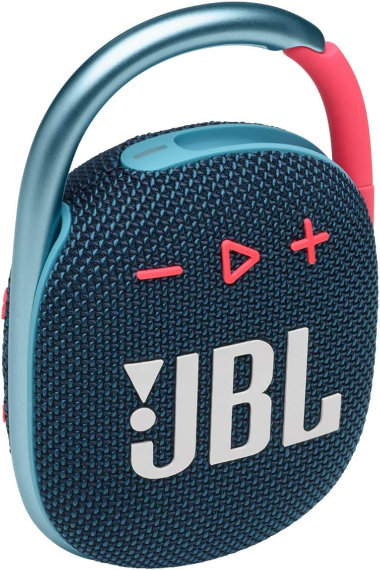 Jbl Clip 4 Bluetooth Lautsprecher In Blau Pink Elektronik