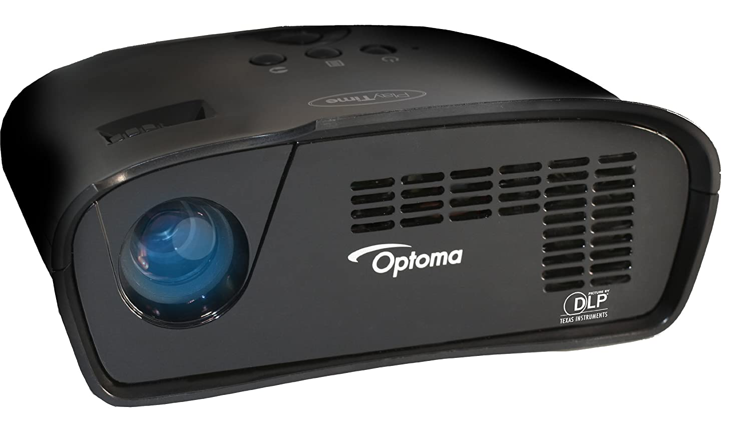 Optoma PT105, WVGA, 75 LED Lumens, Gaming Projector (Discontinued by Manufacturer)