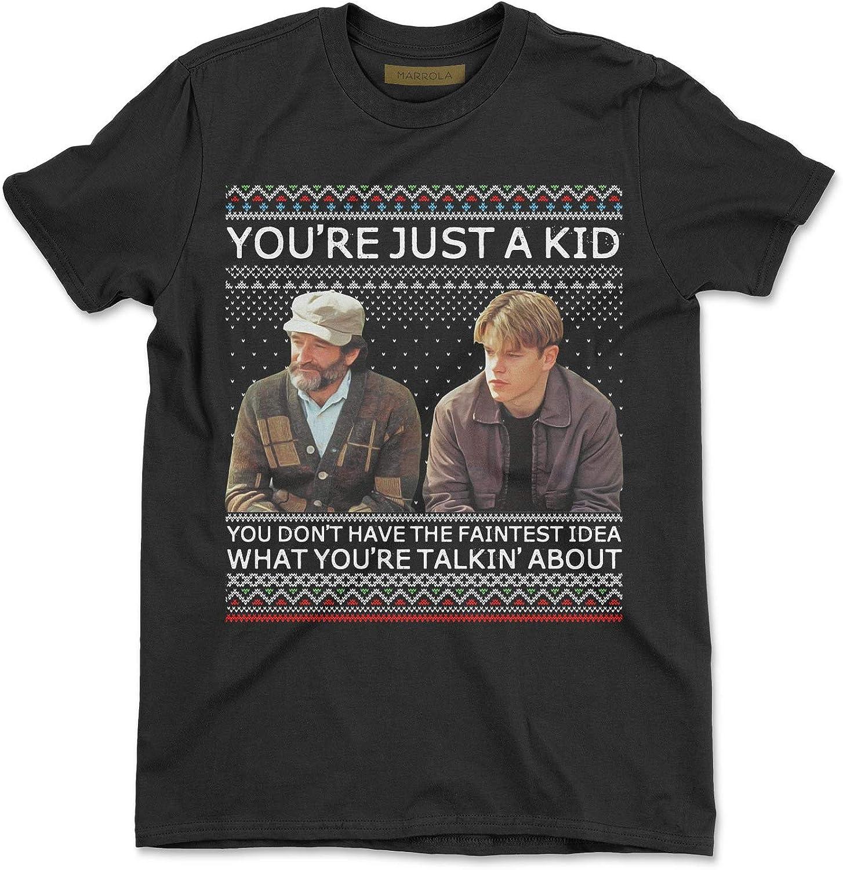 Marrola Youre Just A Kid Ugly Christmas T-Shirt