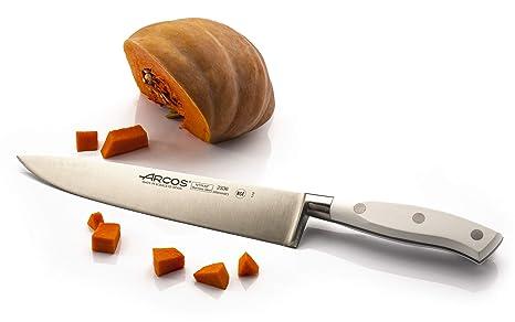 Arcos Riviera Blanc - Cuchillo de cocinero, 250 mm (estuche)