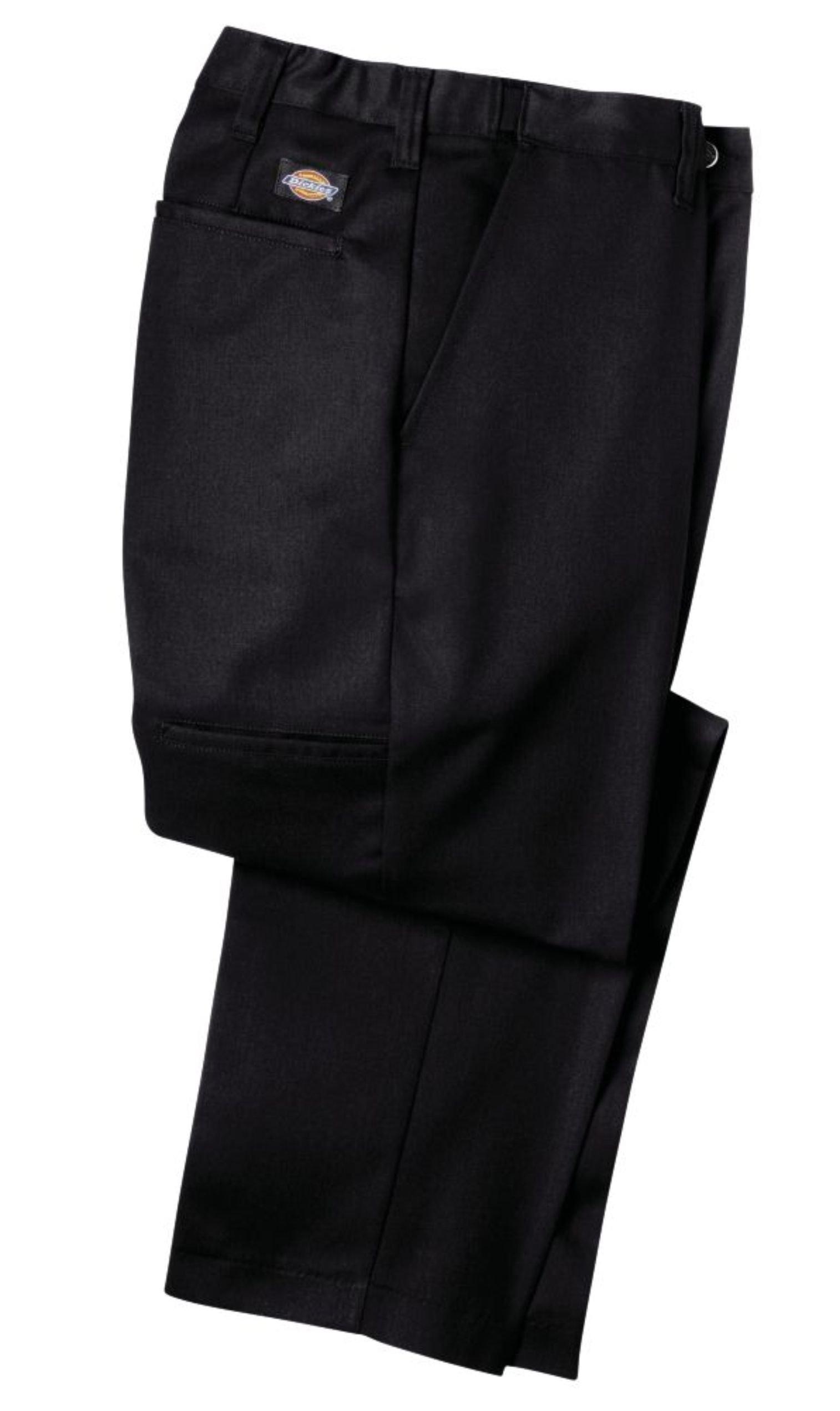 Dickies LP700 Flat Front Comfort Waist Pant-BLACK-32x30