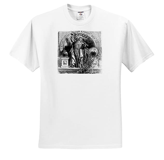 Amazon.com: 3dRose Scenes From The Past ephemera - Father Time ...