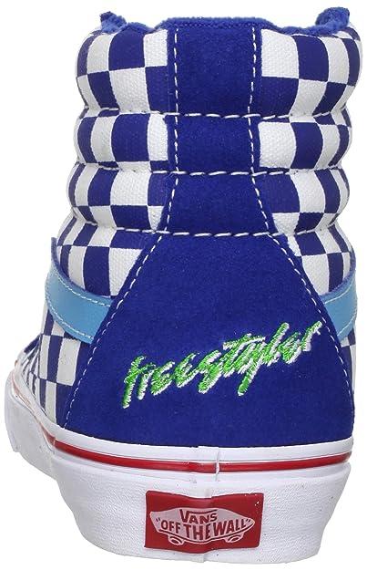 98729500b0 Vans Sk8-Hi Reissue Shoes - (Haro) Freestyler Blue  Amazon.co.uk  Shoes    Bags