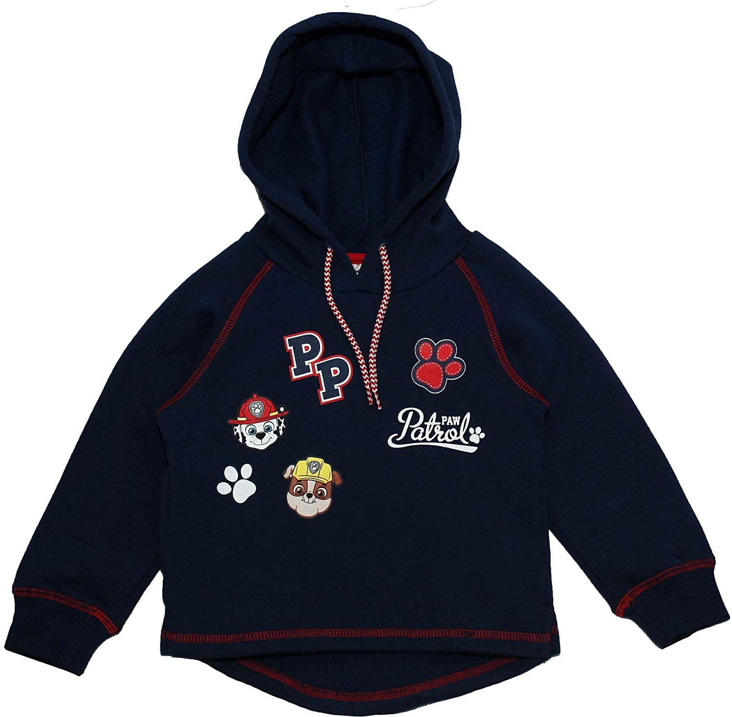 Paw Patrol Boys Paws Panel Hooded Jumper Nickelodeon