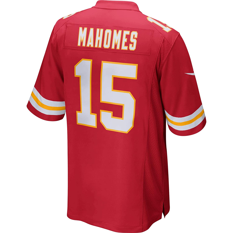 Red Nike Patrick Mahomes #15 Youth Kansas City Chiefs Game Jersey