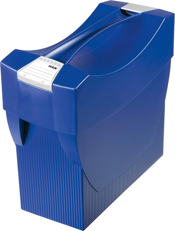 5 Stück HAN Hängeregistratur Box SWING Kunststoff lichtgrau