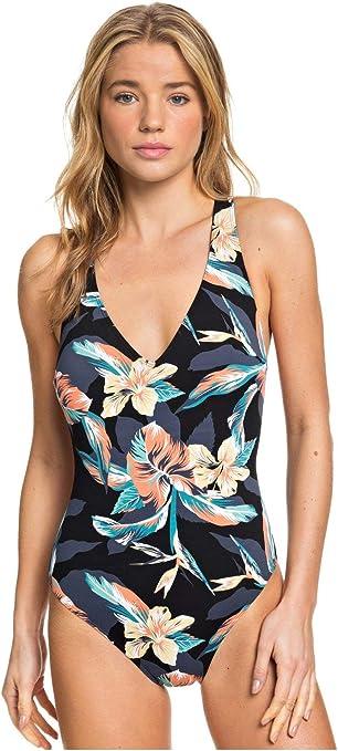 Roxy Women's Printed Beach Classics One Piece Swimsuit: Roxy