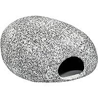 Geo de Livraison Pierre Ronde–Vide–Trou pour petling ou comme Aquarium Pierre, Gris, Taille Unique, 10723